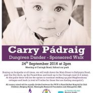 Charity Walk Saturday 24th Sept Dungiven