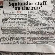 Santander's Coleraine Branch