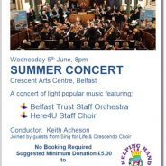 Belfast Trust Staff Orchestra and Here4U Staff Choir
