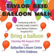 TAYLOR REID BALLON WALK