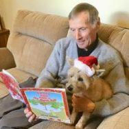 """Santa invites Maisie to the North Pole"""