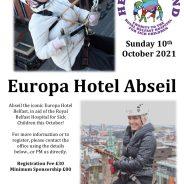 Europa Hotel Abseil 2021